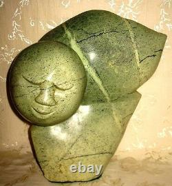 Grande Belle One Of A Kind Shona Sculpture Art Carving Spirit Of Truth