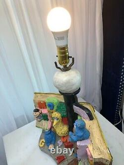 Grande Lampe De Rue À Sésame Vintage. L'un D'un Genre, Des Années 70