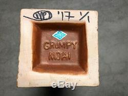 Grincheux Moai Tiki Tasse Par Mikel Parton L'un D'un Genre Mint