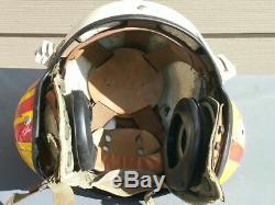 Guerre Du Vietnam Hélicoptère Pilote De Vol Casque Casque Hélicoptère D'un Nature Que Ce Soit Un Usmc
