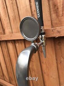 Guinness Gunmetal Police Unique En Son Genre. Pump Tap Font Pub Home Bar Mancave