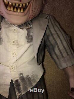 Halloween Zombie Hallriewn Spriit Halloween Rare Htf Unique En Son Genre Gemmy Morbid