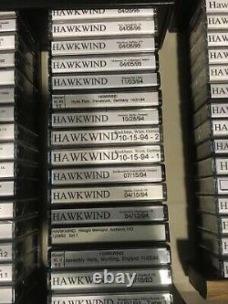 Hawkwind Cassette Tapes Bootlegs Massive One-of-a-kind Collection! Pristi (pristi)
