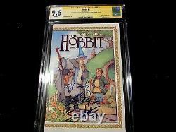 Hobbit # 1 Ss Cgc 9.6 Signé Par Wood, Astin & Boyd! Unique En Son Genre