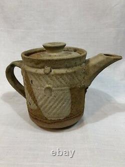 Ian Godfrey Céramique Teapot Tea Pot Art Britannique De Un Rare De 1980 Kind