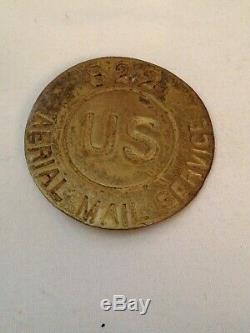 Insigne Du Service De Courrier Aérien Des États-unis N ° 822 Des Années 1920, À Lire Absolument