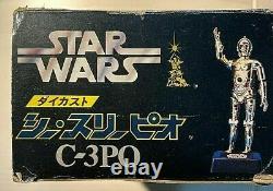 Irremplaçable One-of-a-kind Diecast C3po Missile Tir Figure Japan Star Wars