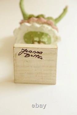 Joanna Bolton Papier Machier Une Des Sortes Collectionnable Fille De Fleur Figure