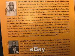 John Lewis Signedrun 12 Page Preuve Aperçu-brochée One Of A Kind Dans Le Monde