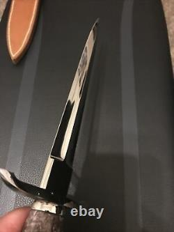 John Young Custom Arkansas Dent Pick Knife-un-de-un-un-genre-amour-inspiré- Menthe