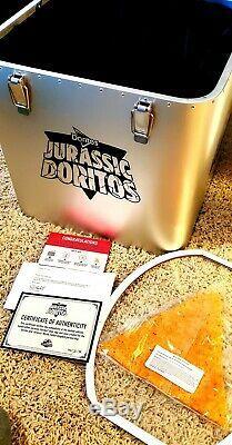 Jurassic Doritos, Signé Par Frank Marshall Rarissime, One Of A Kind