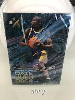 Kobe Bryant Star Date 2000 (topps Foil Toujours Intact -unikat- L'un Des Genres)