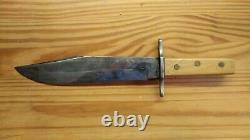 L'homme De Montagne 15 Bowie Couteau. Couteau De Rendez-vous Parfait. Fait À La Main. C'est Une Sorte De Gentillesse.