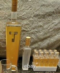 L'ultime Rare D'une Sorte Trump Vodka Bar Set Collection
