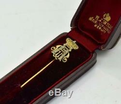 L'un D'une Sorte Historiquement Importante D'or Du Prix De La Famille Royale Allemande Et Diamants Pin