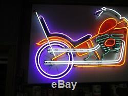 L'un De Kind Grand Vintage Neon Sign Moto (3'x6' )