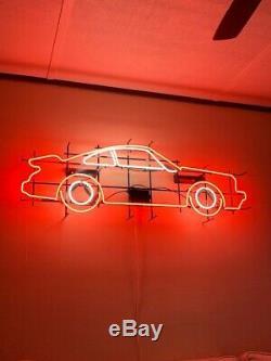 L'un Des Kind Vintage Néon Porsche Sign 2' Hauteur X 4 CM Longueur