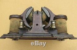 L'un Des Moteur Électrique De L'allemagne Carette ' A Kind Antique C1900 Tesla De Edison