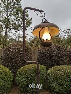 Lampe De Sol De Boîte De Lait Antique Unique En Kind Original