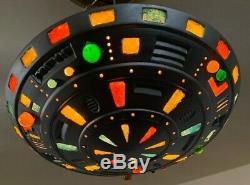 Lampe Ufo Suspendu À La Main Vintage One Of A Kind Aliens Décor