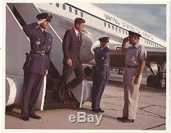 Le Président John F Kennedy Photo-one Of A Kind 8x10-sortie Couleur Air Force One