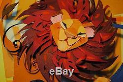 Le Roi Du Lion J'ai Hâte D'être Roi De Brittney Lee (one-of-a-kind Original)