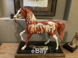 Le Sentier De Painted Ponies Original Un D'une Sorte Masterwork Peinture Sacré