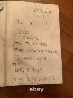 Lenny Bruce-inscribed Joke, Signé -book'goodbye To Uncle Tom'-one Of A Kind