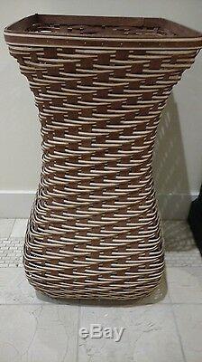 Longaberger Rare One Of A Kind 2010 Top Vendeur Grand Panier Vase Prix Mint