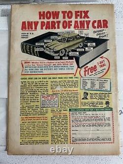 Mad Magazine Issue #1 1952. Vg- (3,5). Unique En Son Genre. Signé Par Harvey Kurtzman