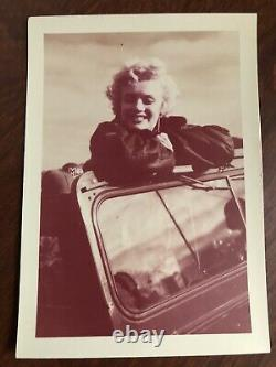 Marilyn Monroe Originel Of A Kind Photo De 1954 Sa Corée Voyage