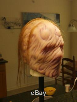 Masque En Silicone Bizarre Surréaliste Halloween Horreur Haunt Custom Unique En Son Genre