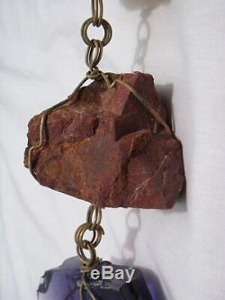 Massive Paolo Soleri 45 5lb Bronze Vent De Bell Rain Chain one Of A Kind Belle