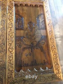 Master Artist Walnut Backgammon - L'un Des Genres