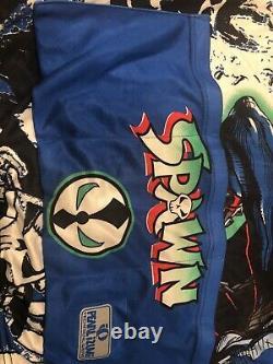 Mcfarlane Toys Spawn Faire Du Vélo Shirt. Exemple Rare Prototype. Unique En Son Genre