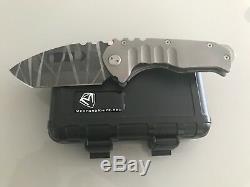 Medford Custom Praetorian T Knife (unique En Son Genre) Avec Aperçu Vidéo