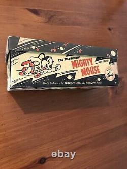 Mighty Mouse Chaussures De Tennis Mint Dans La Boîte Cbs Rare One Of A Kind