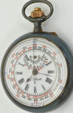 Montre Du Chronographe Du Commandant De Bord Du Sous-marin Russe Impérial De La Première Guerre Mondiale