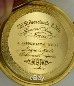 Montre Unique Du Prix Du Sacre Du Couronnement, En Or 18 Carats Et En Émail, De Russie. 145g