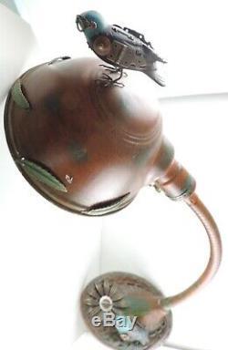 Mullanium Un-de-a-sorte Lampe De Bureau À Mi-2000 Jim & Tori Mullan 17 Steampunk