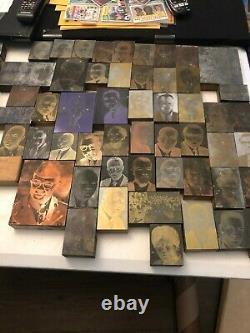 News Paper Un Du Genre Lot De 55+ Droits Civiques Naacp Black Americana Ink Plate