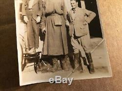 Öndör Gongor La Mongolie Géant Extrêmement Rare Un D'un Genre Des Années 1920 Candid Photo