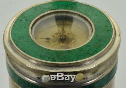 One Of A Kind Antique Horloge Russe Impériale En Forme De Poêle Miniature