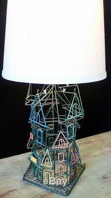 One Of A Kind Lampe De Galerie D'art En Métal De Galerie Maisons De San Francisco MID Century