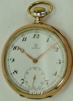 One Of A Kind Omega Gilt Silver&émail Masonic Memento Mori Skull Montre De Poche