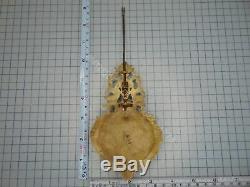 One Of A Kind Pendulum Pour Un Antique Français Portico Horloge