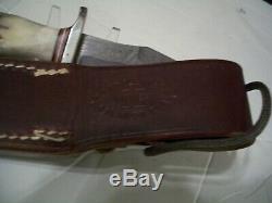 One Of A Kind Randall Prototype Damas Couteau, Boîte À Lunch Couteau! 1980 Non Utilisés