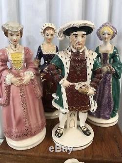 One Of A Kind Roi Henri VIII D'angleterre Figurine Statue Figure Maison De Tudor