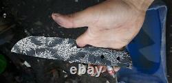 One Of Kind Mosaic Pattern Damascus Steel Custom Made Blank Billet 10