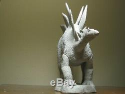 Original, One Of A Kind, Stégosaure Stenops Résine Sculpture Dinosaur / Modèle